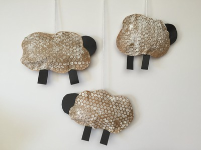 Easy DIY Sheep Mobile Tutorial
