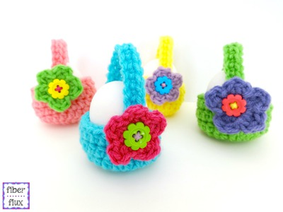 Episode 187: How To Crochet Little Egg Baskets