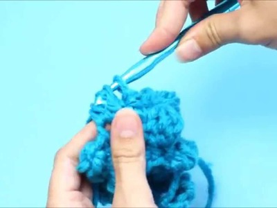 How To: 4 Double Crochet Cluster Stitch