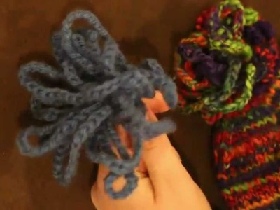 How to Create a Crochet Loop PomPom