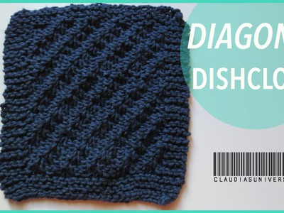 How to Knit a Diagonal Dishcloth