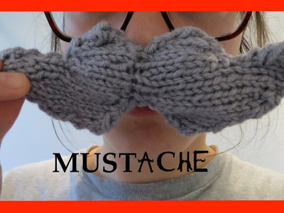 How to Knit a Mustachio