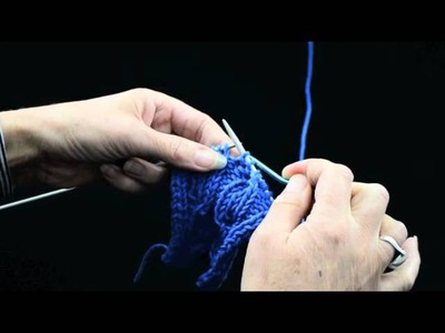 How to Knit Cables Part 2 Rib Cable   k1p1 TV