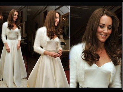 How To Knit The Kate Middleton Angora Rabbit Sweater.Bolero.Shrug Part I