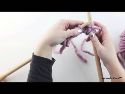 How to knit tubular bind off | We Are Knitters