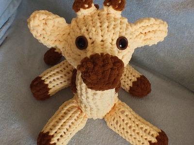How to Loom Knit a Giraffe Pattern