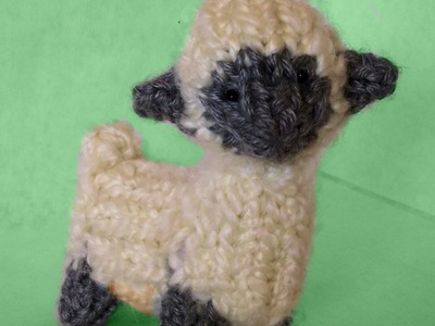 How to Loom Knit a Mini Sheep