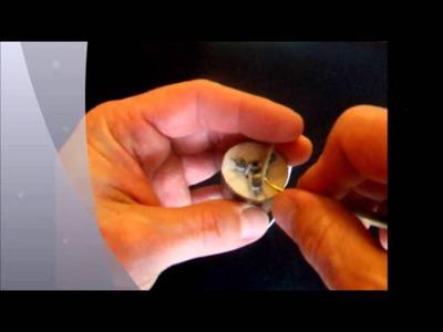 Kötőhenger használata egy szállal [How to Use a Knitting Spool - 1 strand]