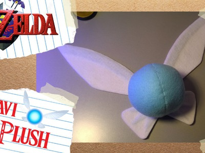 Navi Plush with LED lights DIY Tutorial