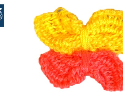 Tunisian Butterfly Crochet Geek Left Hand Video