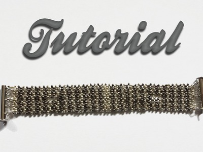 "Tutorial ""Stripes Bracelet"" feat. PandaHall 