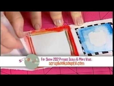 202-1 Host Julie Fei-Fan Balzer creates a micro album on Scrapbook Soup