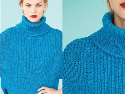 #27 Oversized Top, Vogue Knitting Fall 2013
