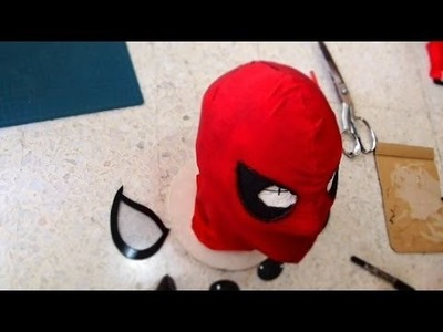 #50: Spiderman Mask DIY Part 2 - Face Shell