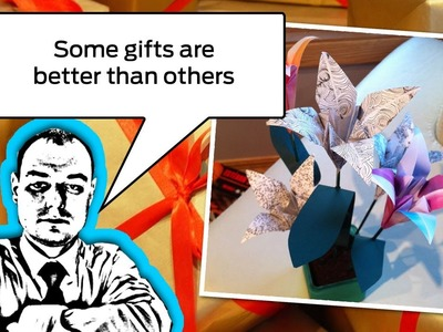 Amazing Gift Idea: Origami Flowers In a Pot
