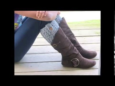 Bailey Boot Cuffs, Free Crochet Pattern