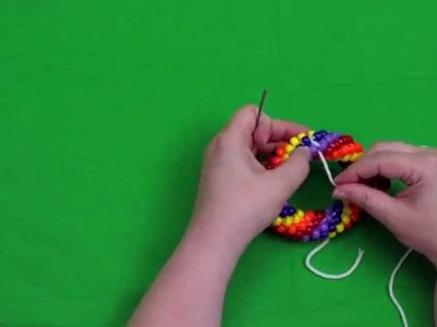 Bead Crochet Tutorial Series, Video 6: Closing a Bracelet: Invisible Join