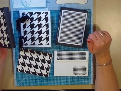 Card & Envelope Scrapbook Tutorial - 4 Projects