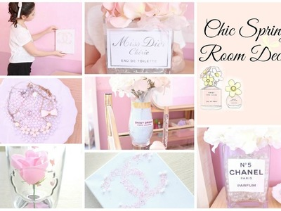 Chic Spring Room Decor ♡ Girly & DIY