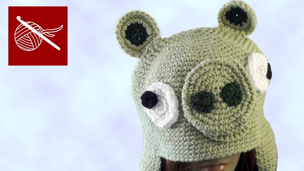 Crochet Angry Bird Pig Hat Crochet Geek