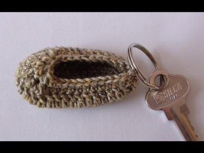 Crochet Baby Bootie Keyring