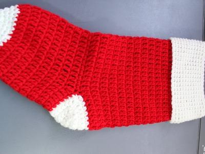 #Crochet Christmas Stocking Cuff