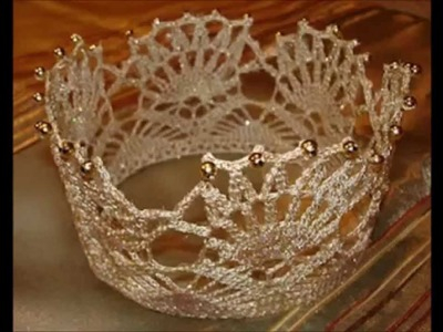 Crochet Crown and Tiara Free Pattern