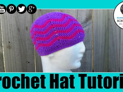 Crochet Waves Hat Tutorial
