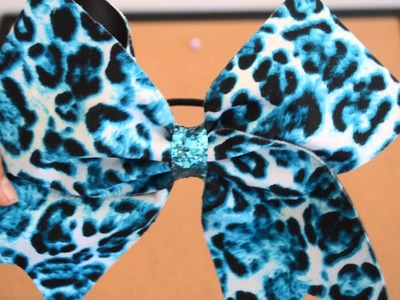 DIY Cheer Bow Holder
