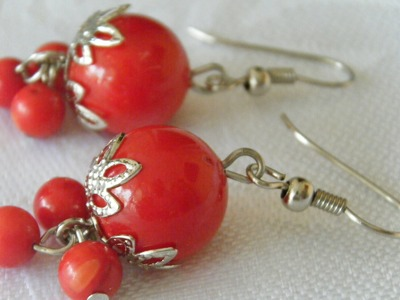 DIY Christmas Earrings Free Jewelry Making Video Tutorial