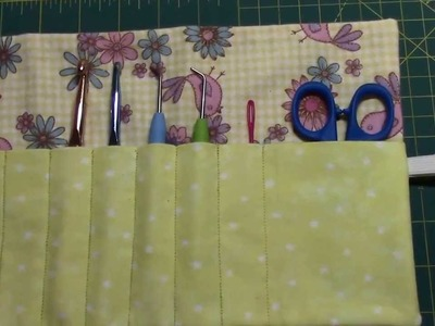 DIY Crochet Hook Case + Giveaway