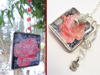 DIY Customized Ornament & Charm Necklace | Christmas Gifts Ideas!