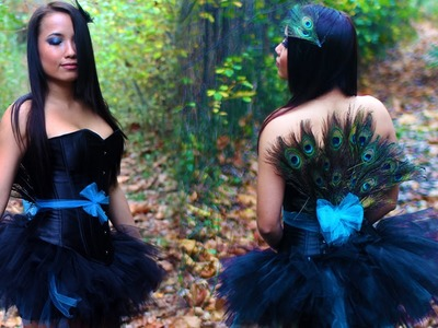 DIY: Easy Peacock Costume