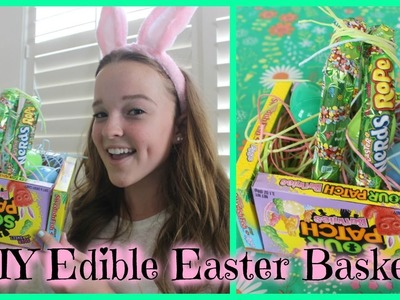 DIY Edible Easter Basket!