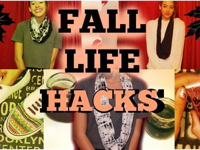 DIY FALL LIFE HACKS (Collab with JENerationDIY) - HowToByJordan