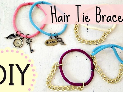 DIY Hair Tie Bracelets (EASY) by Michele Baratta