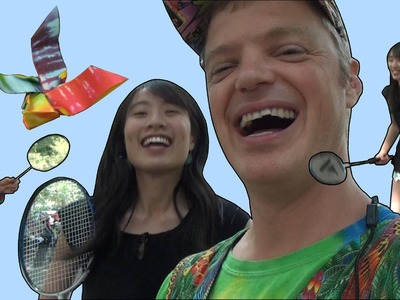 DIY How to Fold: Origami Badminton Birdie   Ft. Jeremy Shafer Origami   Summer Crafts Kids