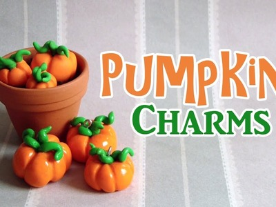 DIY: Pumpkin Charms