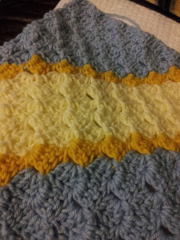 Easy Crochet - C2C Blanket Left-Handed Corner to Corner blanket