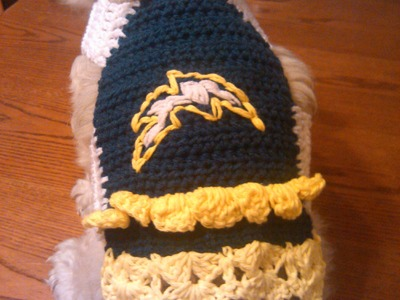 Easy Crochet Dog Sweater