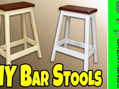 Easy DIY Bar Stool - 130