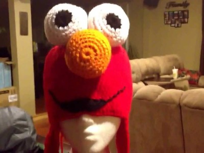 Elmo beanie. My latest crochet project