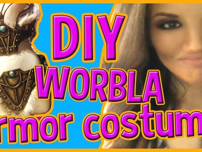 EPIC DIY HALLOWEEN COSTUME (Using Worbla)