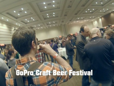 Fredericton Craft Beer Festival 2014 -3rd-Person GoPro Edit