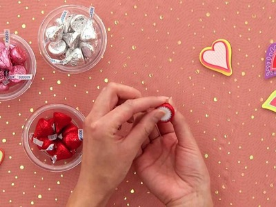 HERSHEY'S - Valentine's Day Craft - Personalized HERSHEY'S KISSES