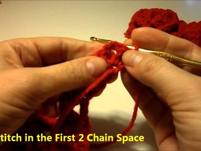 How to Crochet a Valentine Rose