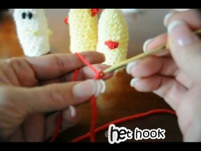 How to Crochet ChiCkeN RoOSter Finger Puppet