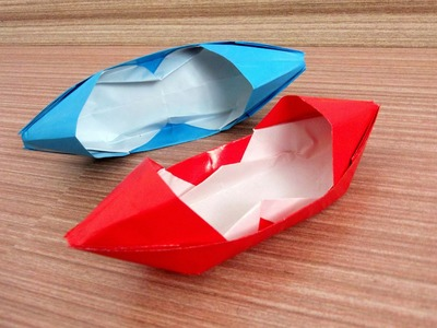 How To Make a Motor Boat - Origami Paper Motor Boat