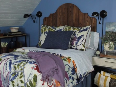 How to Make a Plank Headboard