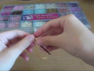 How to Make Accessories: Basic Beaded Bobby Pin